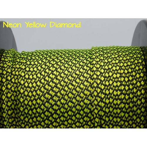 US - Cord  Typ 2 Neon Yellow Diamond