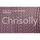 US - Cord  Typ 2 Rose P. & Charcoal Grey Diamonds