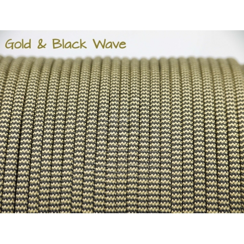 US - Cord  Typ 3 Gold & Black Wave