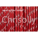 US - Cord  Typ 3 Imperial Red Glitzer
