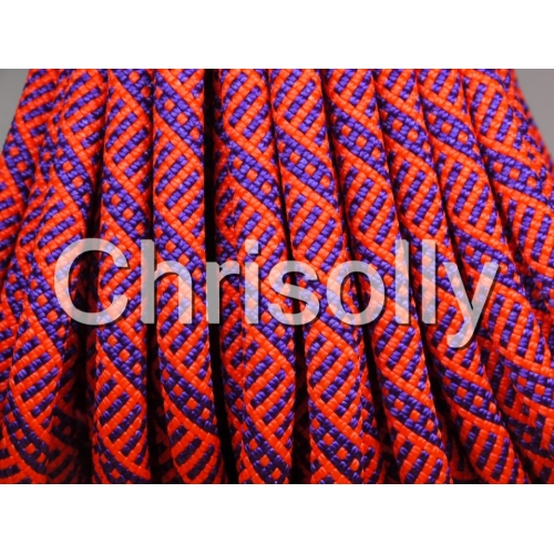 Kletterseil Lila Orange 9,5mm