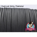 US - Cord  Typ 3 Charcoal Grey Diamond