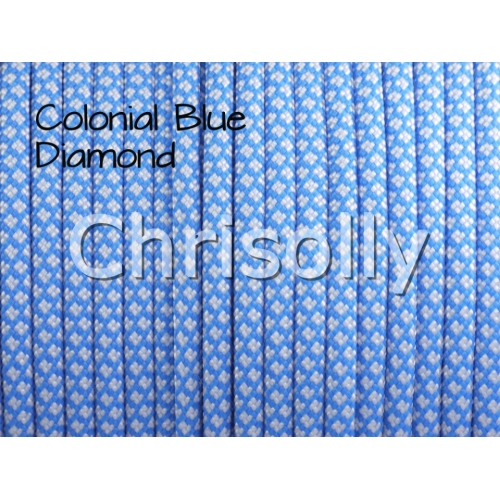 US - Cord  Typ 3 Colonial Blue Diamonds