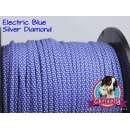 US - Cord  Typ 3 Electric Blue Silver Diamond
