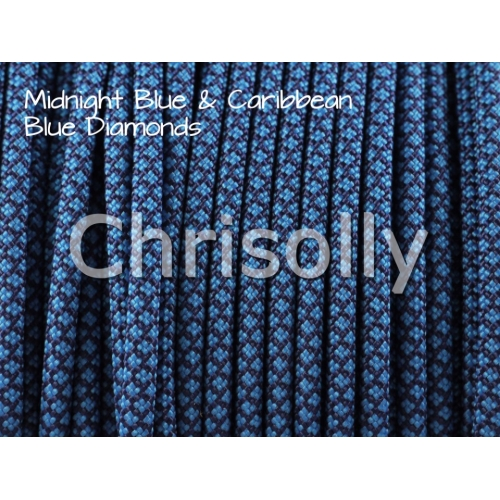 US - Cord  Typ 3 Midnight B. & Caribbean Blue Diamonds