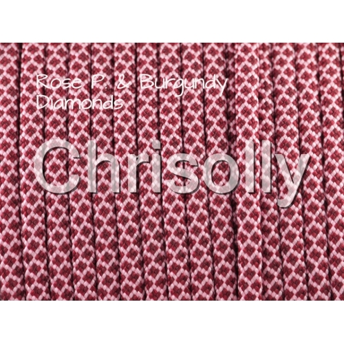 US - Cord  Typ 3 Rosa P. & Burgundy Diamonds