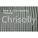 US - Cord  Typ 3 Silver & Charcoal Grey Diamonds