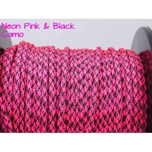 US - Cord  Typ 3 Neon Pink & Black Camo