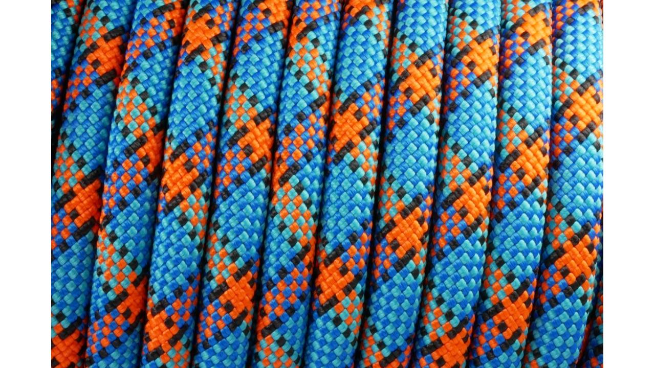 Leinen PPM Seil 8 mm Halfter uvm. Schwarz Meterware für Halsbänder