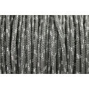 US - Cord  Typ 2 Charcoal Grey Glitzer
