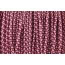 US - Cord  Typ 2 Burgundy & Lavender Pink Diamonds