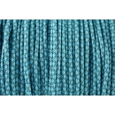 US - Cord  Typ 1 Teal & Turquise Diamonds