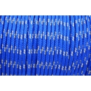 US - Cord  Typ 2 Electric Blue reflektierend