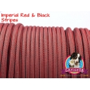 US - Cord  Typ 3 Imperial Red & Black Stripes