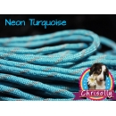 US - Cord  Typ 3 Neon Turquise reflektierend