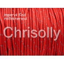 US - Cord  Typ 1 Imperial Red reflektierend
