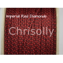 US - Cord  Typ 1 Imperial Rot Diamonds
